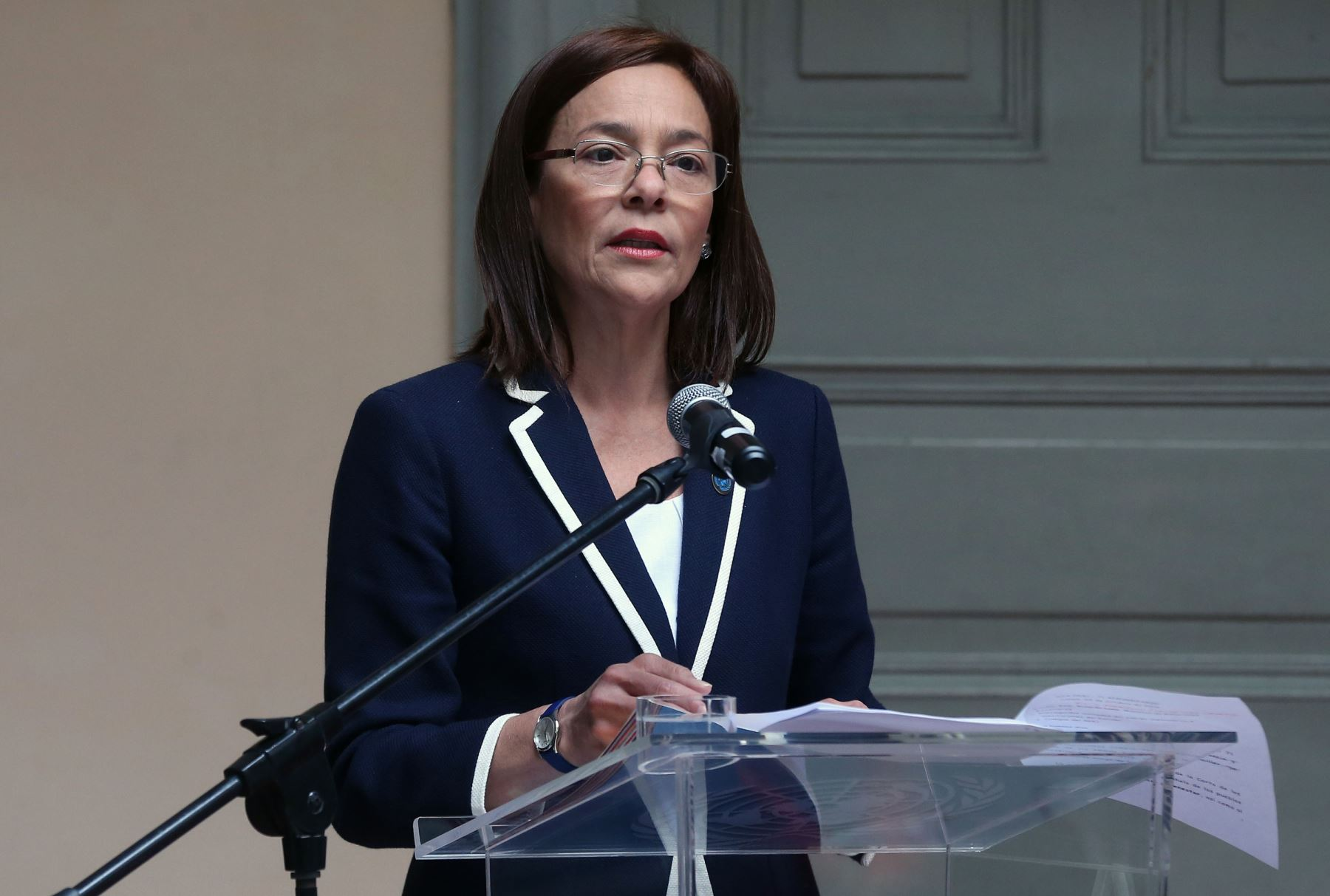 ANDINA/Vidal Tarqui María del Pilar Sacasa es la representante de la ONU en Perú.