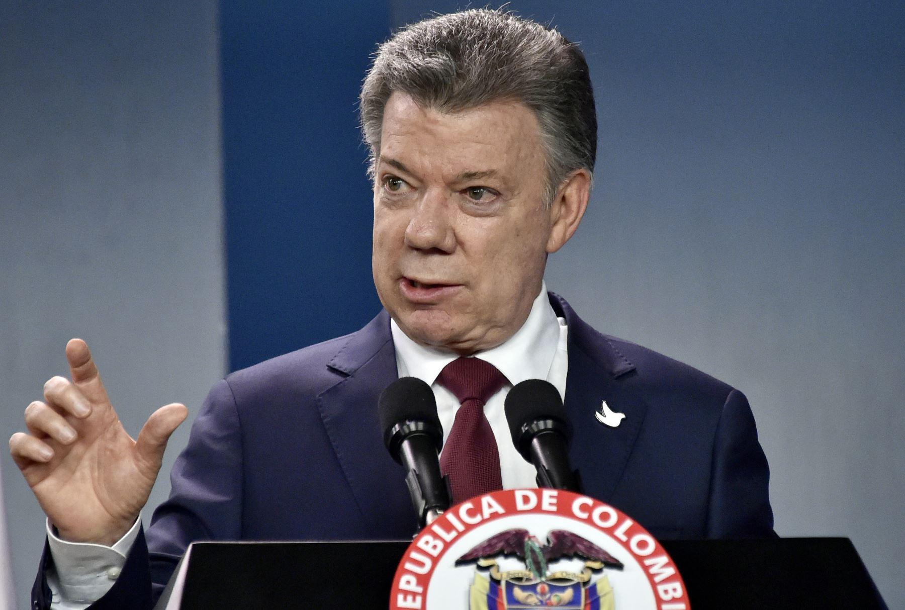 Presidente de Colombia, Juan Manuel Santos. AFP