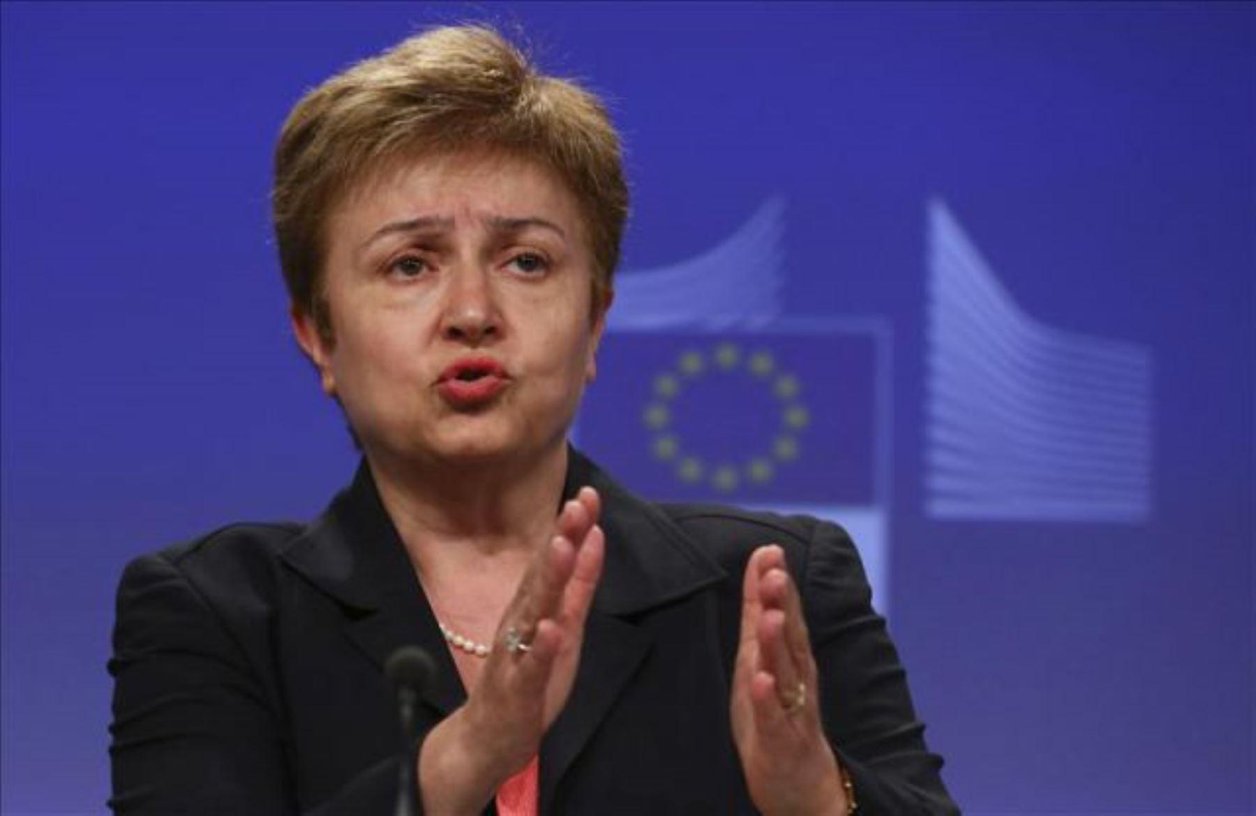 Presidenta del FMI, Kristalina Georgieva.  INTERNET/Medios