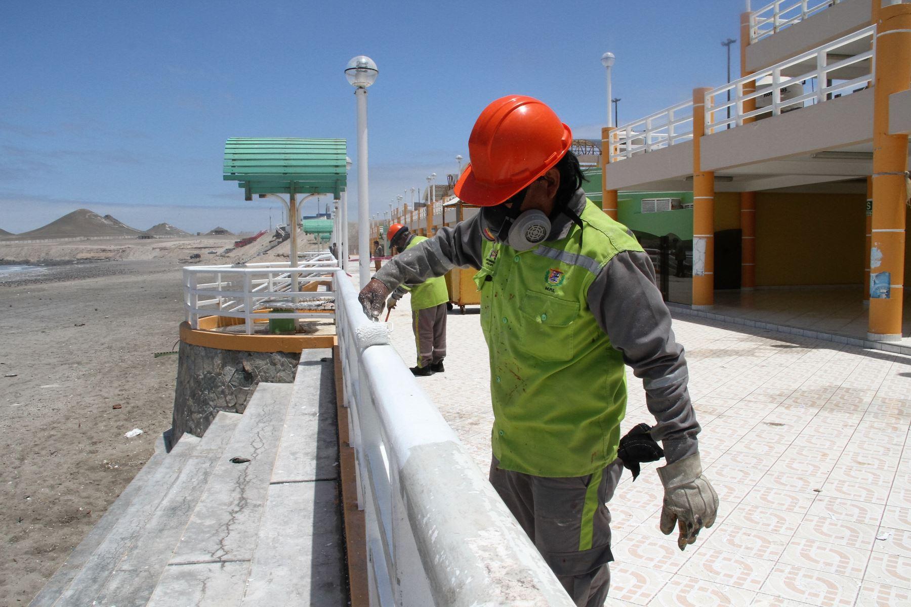 Construcción de infraestructura pública. ANDINA