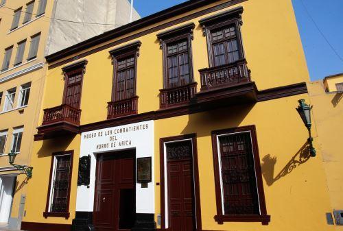 Casa de Francisco Bolognesi en pleno proceso de remodelación por el bicentenario de su nacimiento 1816- 2016.
