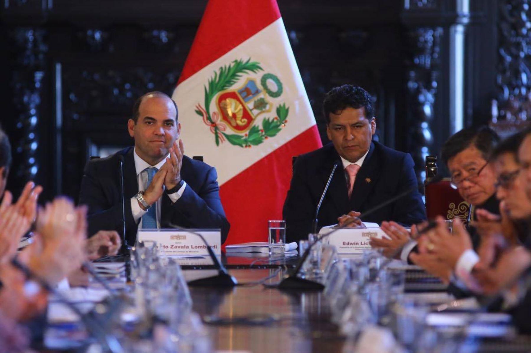 III Gore Ejecutivo mostrará logros y avances en proyectos de desarrollo regional, sostuvo el presidente de la ANGR, Edwin Licona. Foto: ANDINA/Prensa Presidencia.