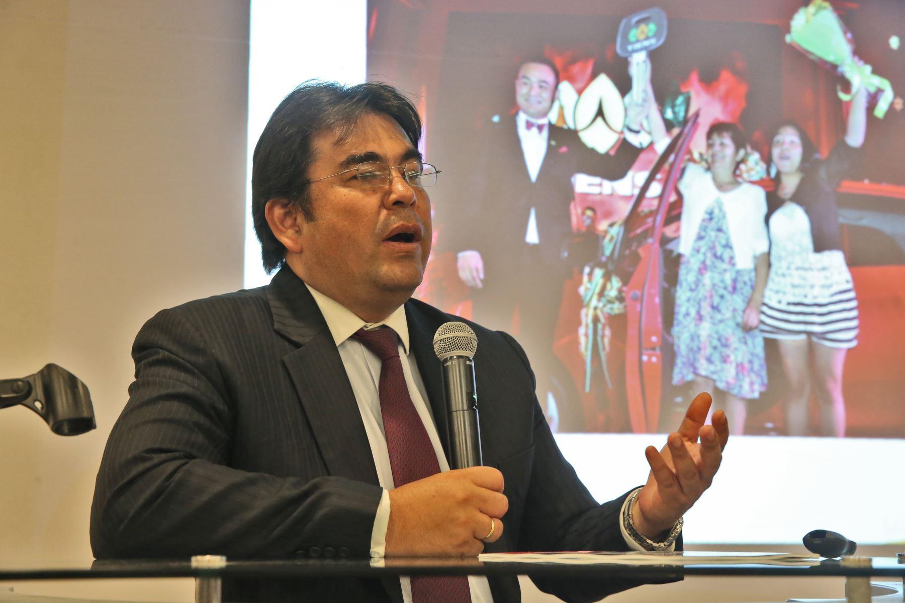 Director de promoción de las exportaciones de Promperú, Luis Torres.Foto:  ANDINA/archivo.