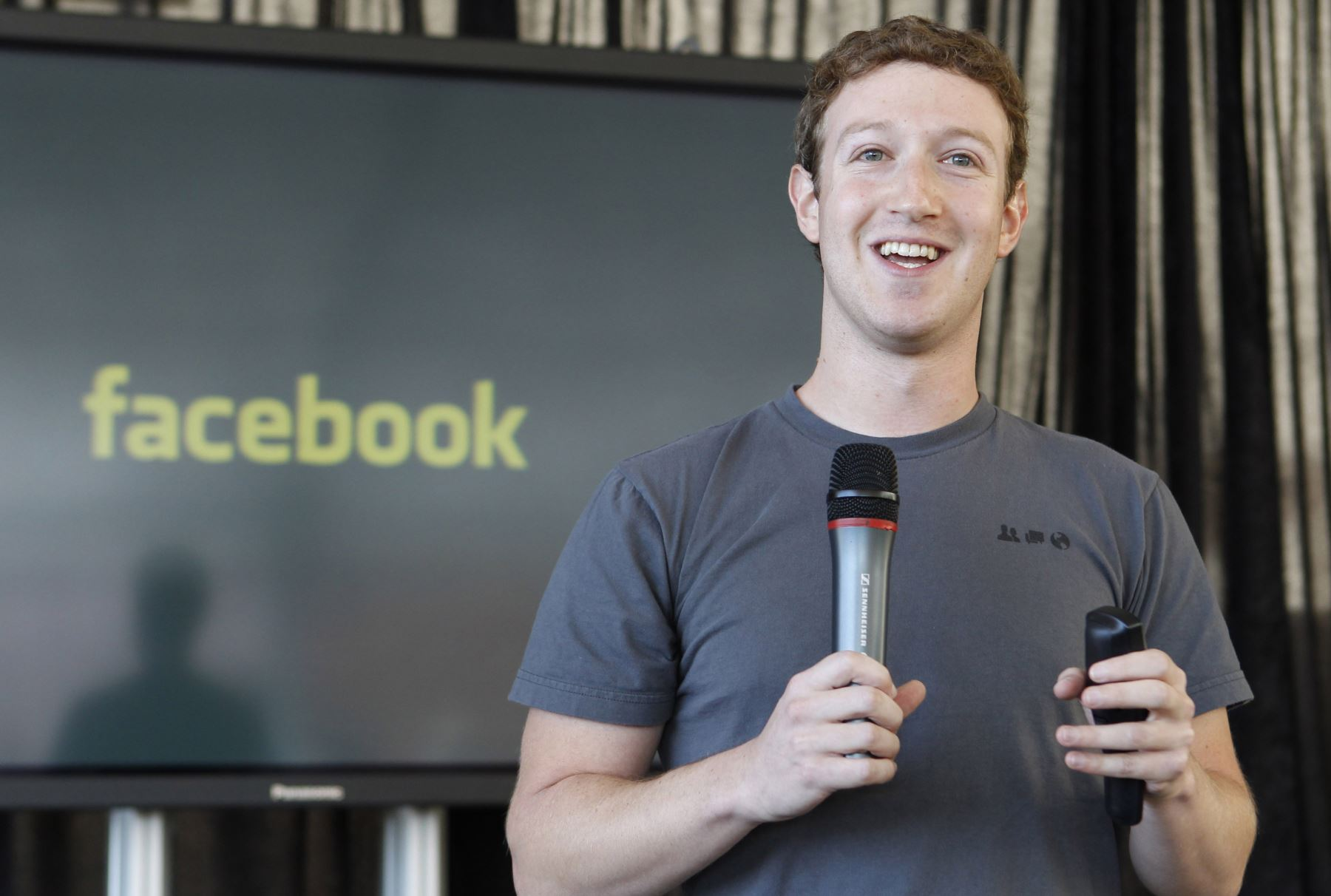 Mark Zuckerberg, creador de la red social Facebook
