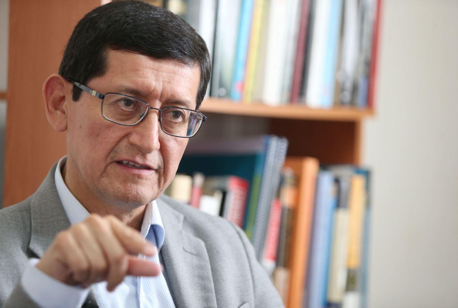 Economista Marco Aquino Rodríguez. ANDINA/Melina Mejía