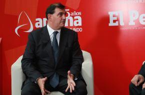 Presidente de ComexPerú, Alfonso Bustamante. ANDINA/Jhony Laurente