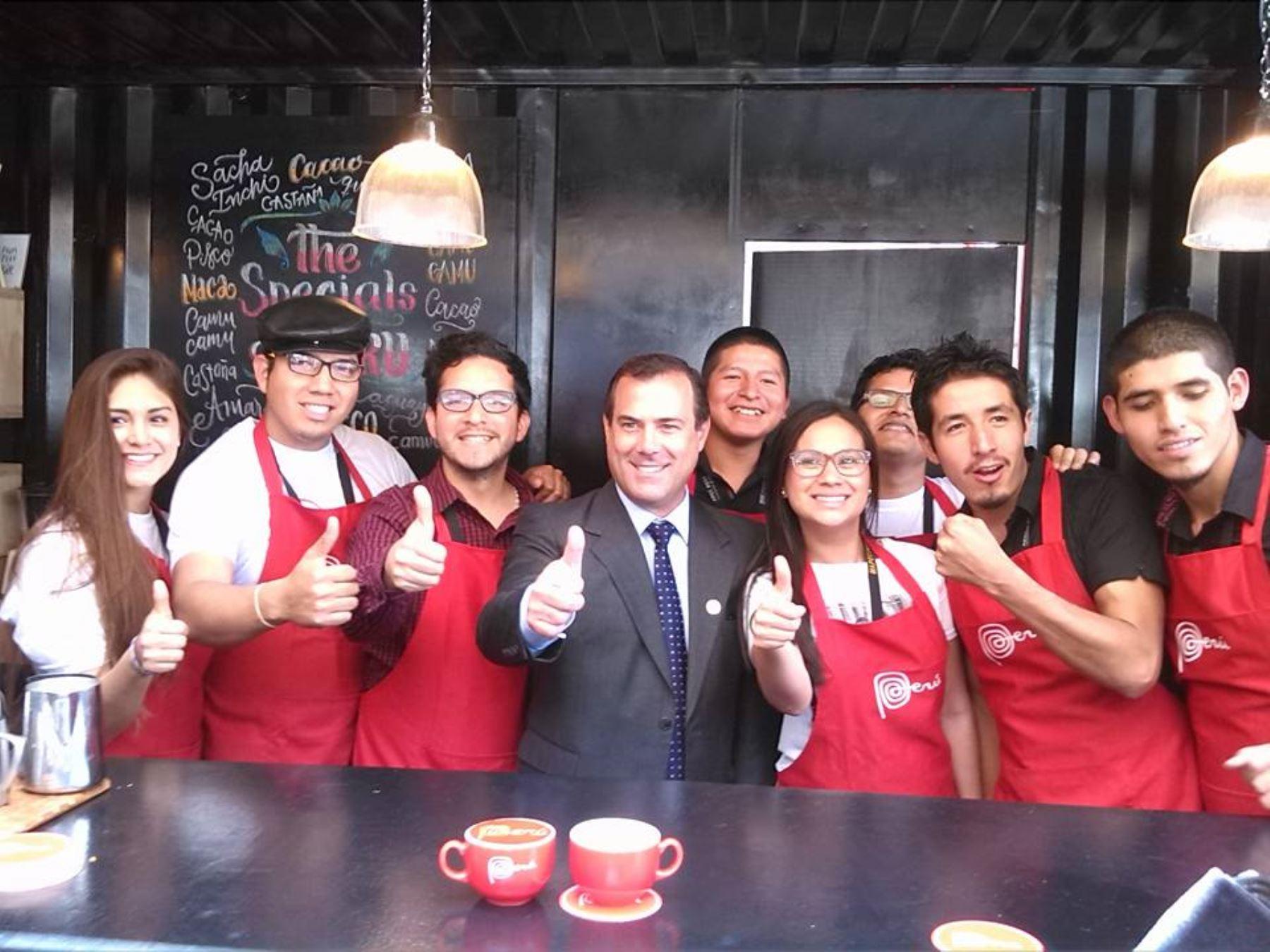 Bruno Giuffra, APEC, cafés especiales