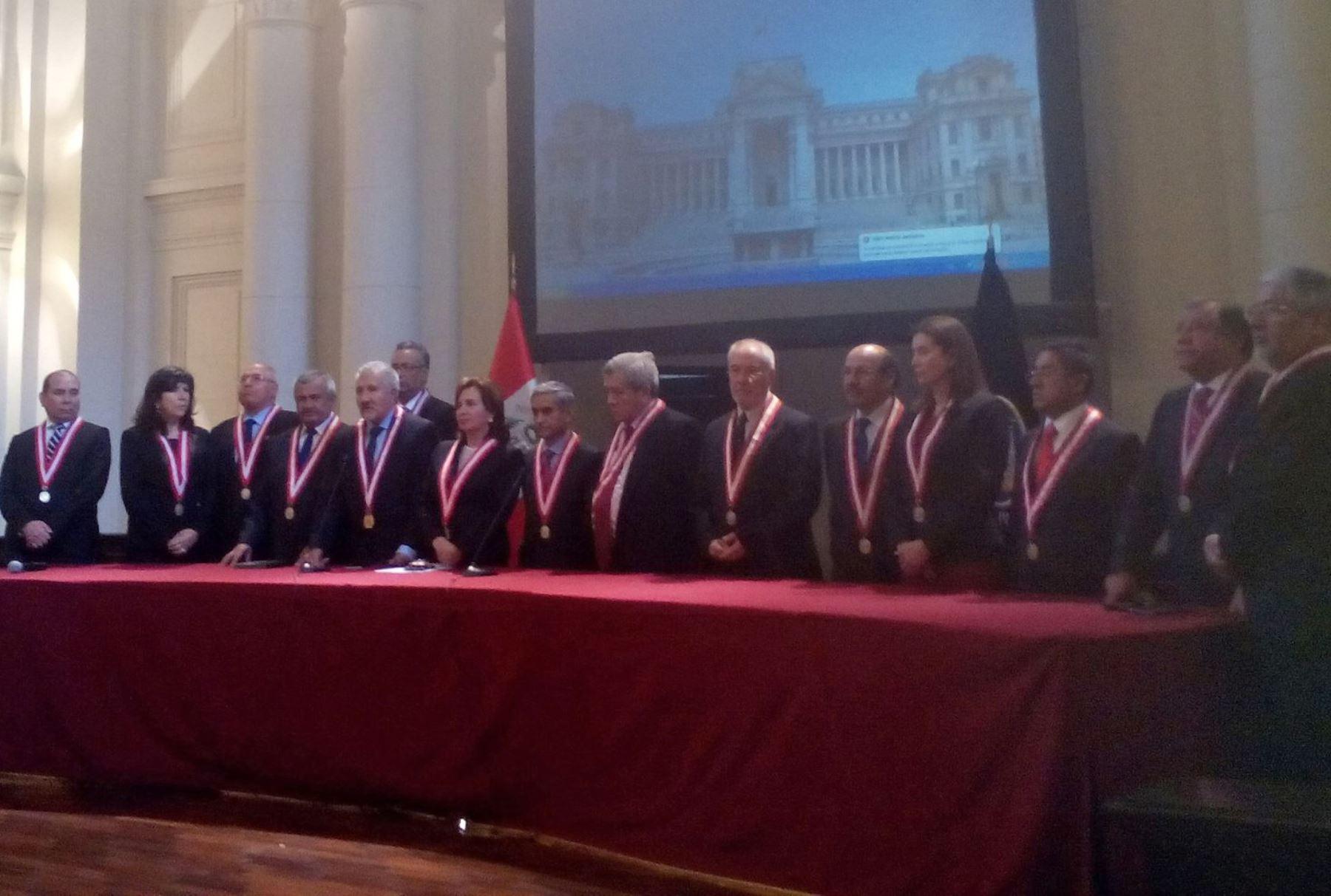 Juez Duberlí Rodríguez es el nuevo presidente del Poder Judicial. Foto: Poder Judicial.