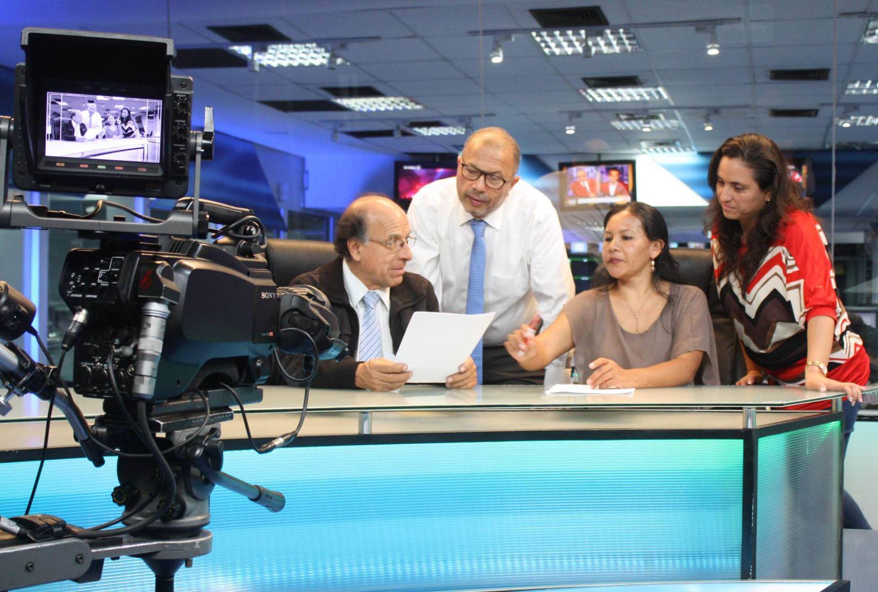 Agencia Xinhua destaca noticiario en quechua de TV Perú