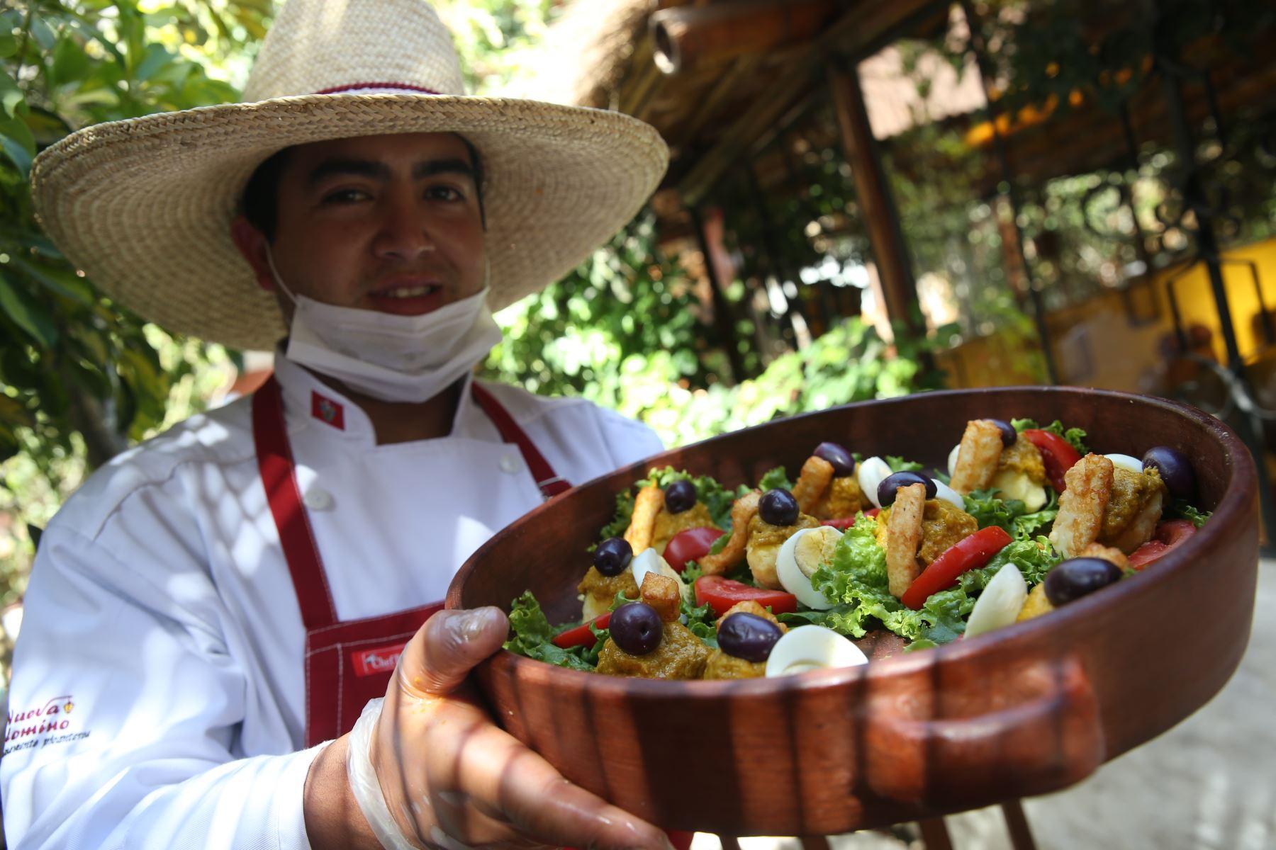 La picantería es el emblema de la exquisita cocina tradicional de Arequipa. ANDINA/archivo