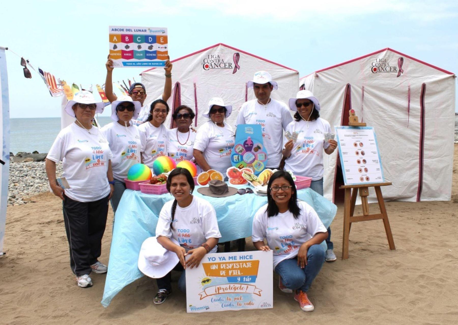 Lanzan campaña para prevenir el cáncer de piel en zonas de mayor radiación solar. Foto: ANDINA/Difusión.