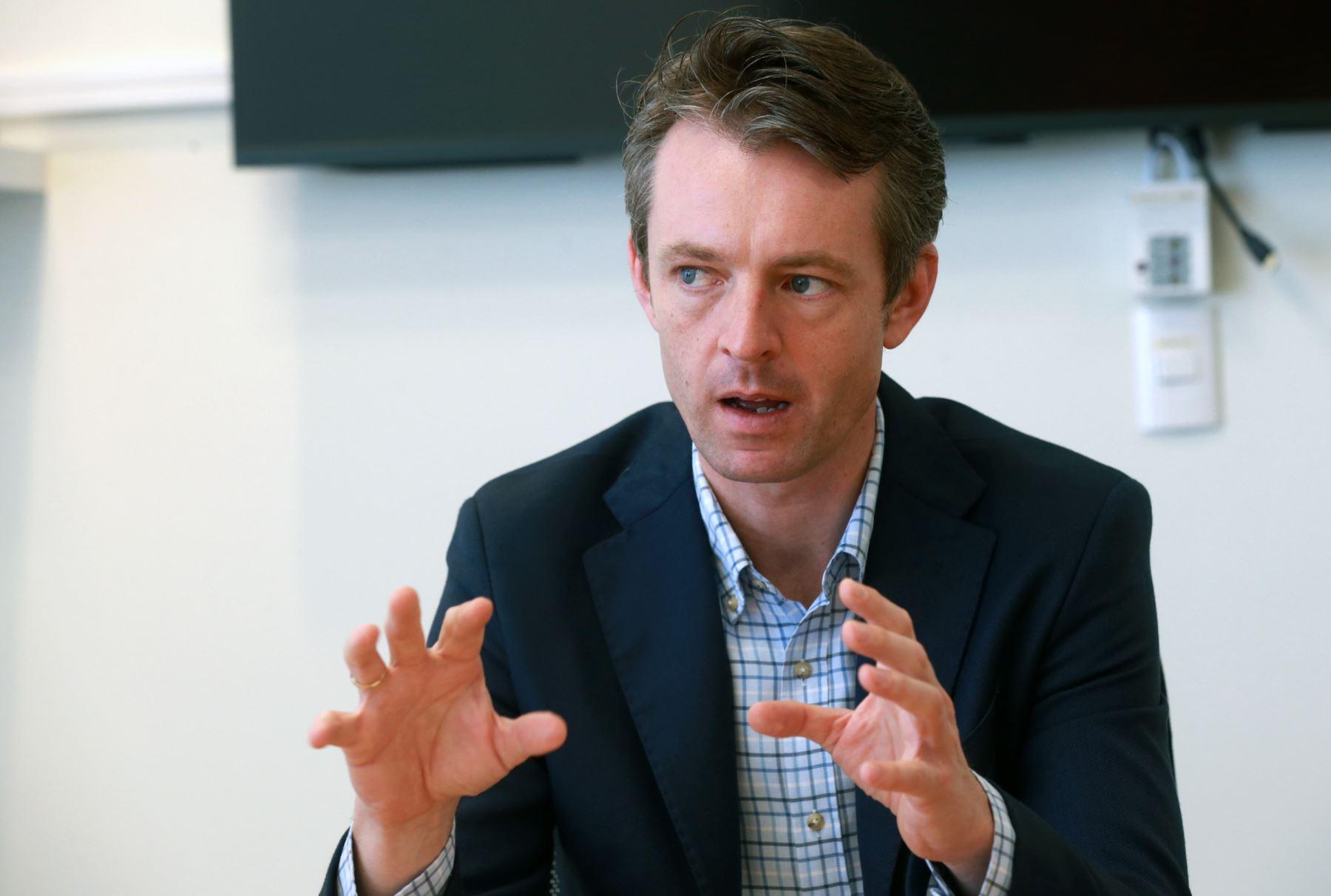 LIMA PERÚ, DICIEMBRE 14. Nicholas Mc Caffrey, embajador de Australia  Foto: ANDINA/Norman Córdova