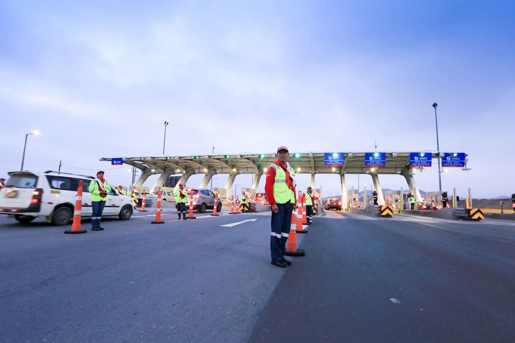 Nuevo peaje permitirá recuperar inversión hecha en obras, señala concesionaria. Foto: Rutas de Lima