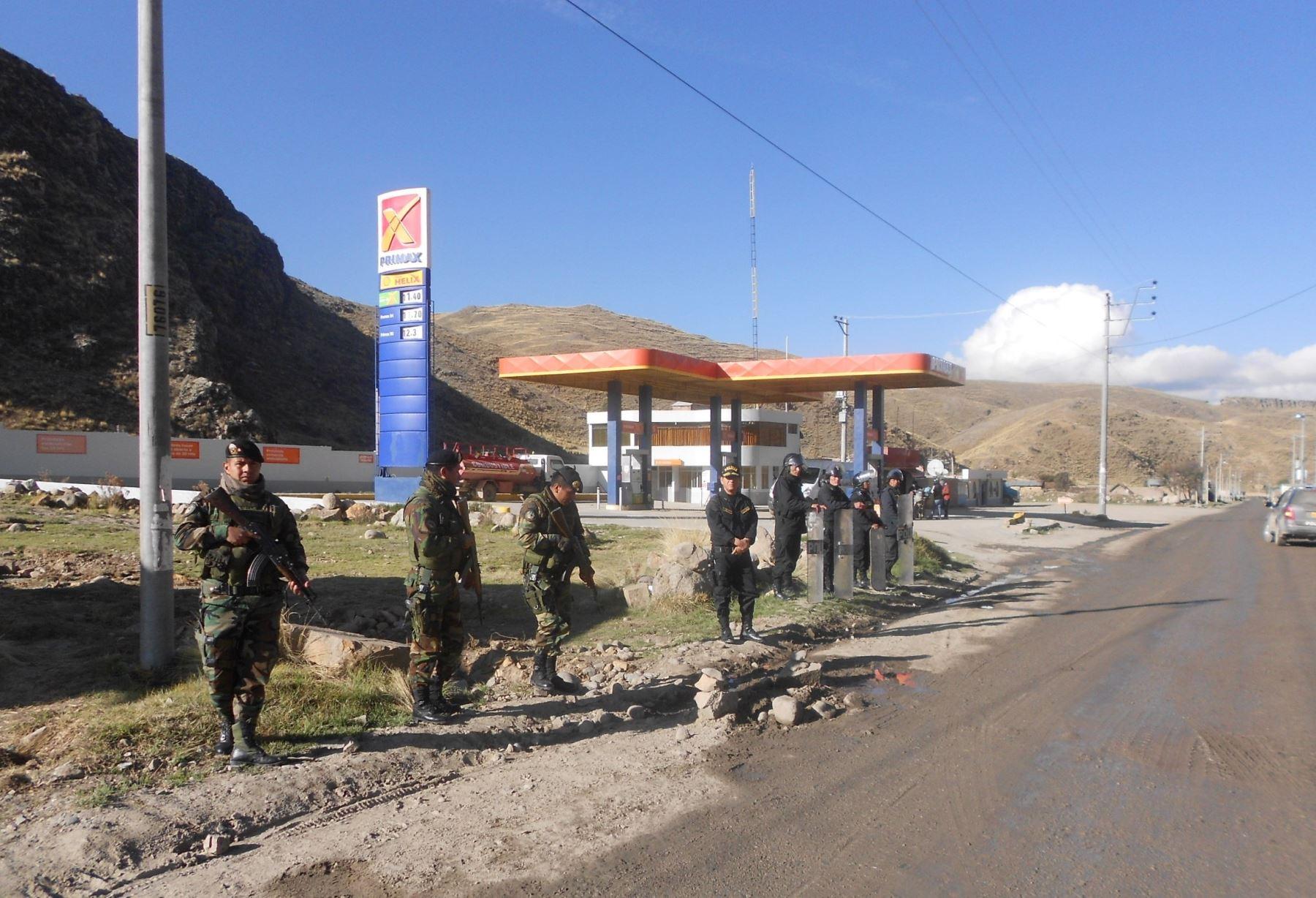 Prórroga del Estado de emergencia en parte del corredor vial Apurímac-Cusco-Arequipa comprende el distrito de Colquemarca, provincia cusqueña de Chumbivilcas. ANDINA/Archivo
