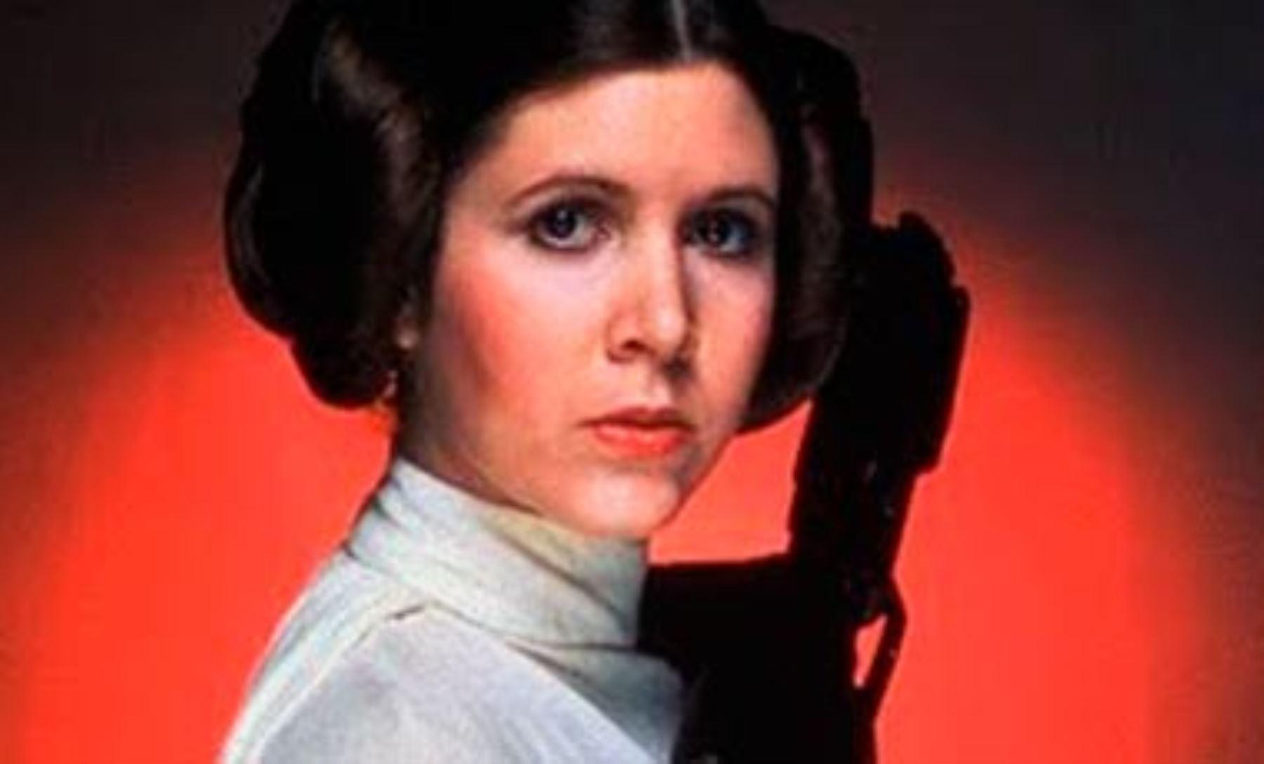 la princesa leia de star wars sufrió un ataque al corazón noticias