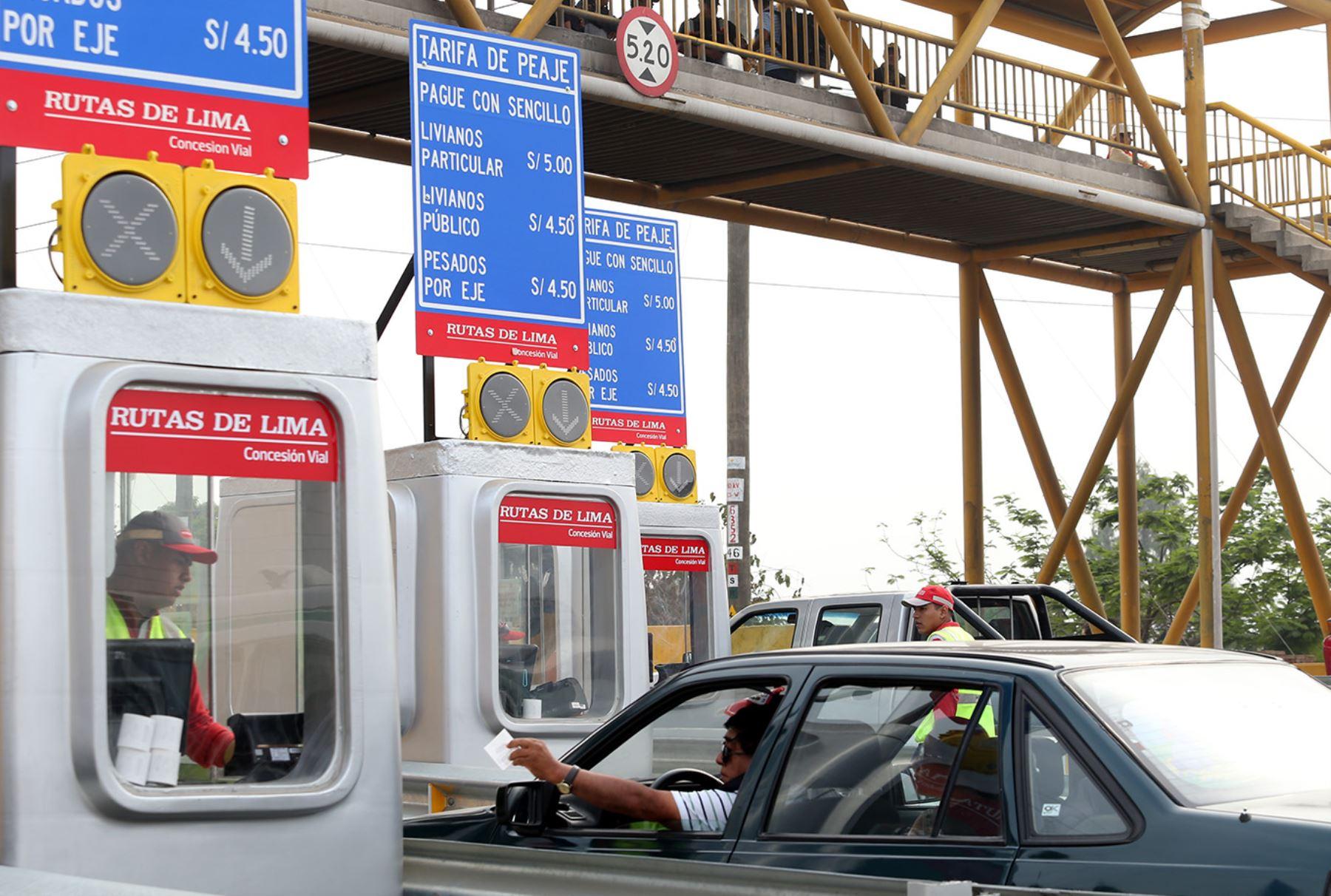 Rutas de Lima recalca que incremento de peajes es para recuperar ...