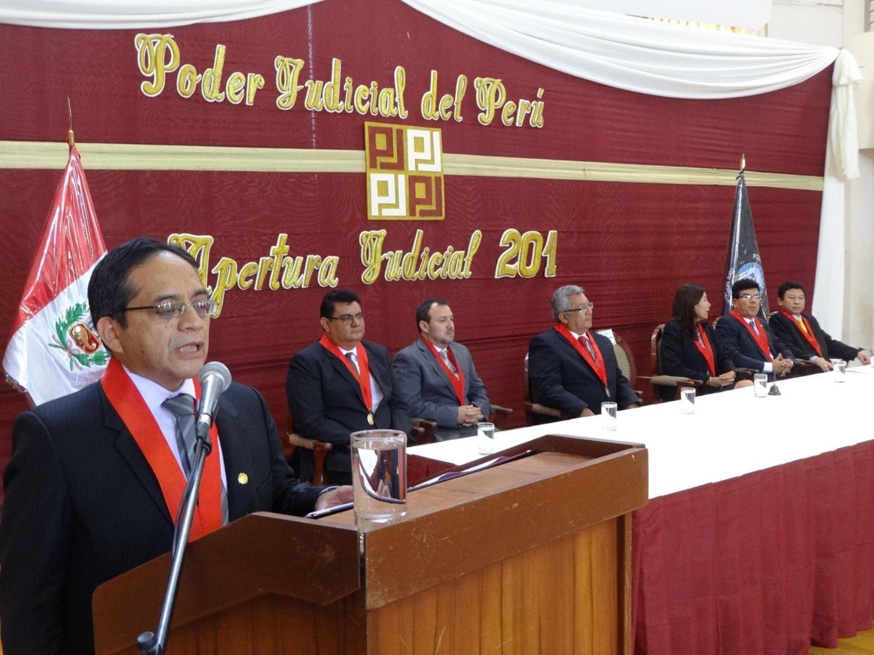 Flamante presidente de la Corte Superior de Justicia de Sullana, Pedro Germán Lizana Bobadilla.