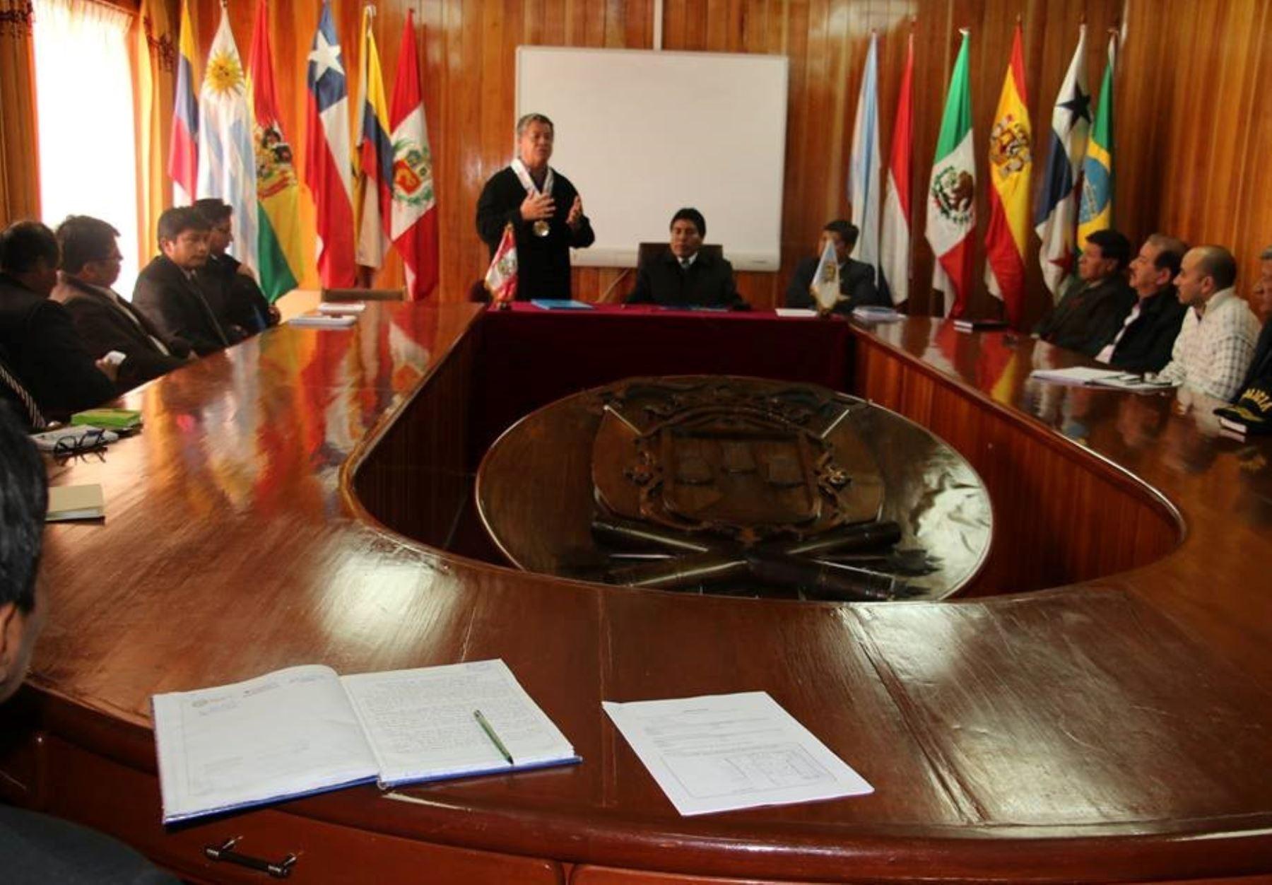 Puno se prepara para implementar programa Barrio Seguro en la región. ANDINA