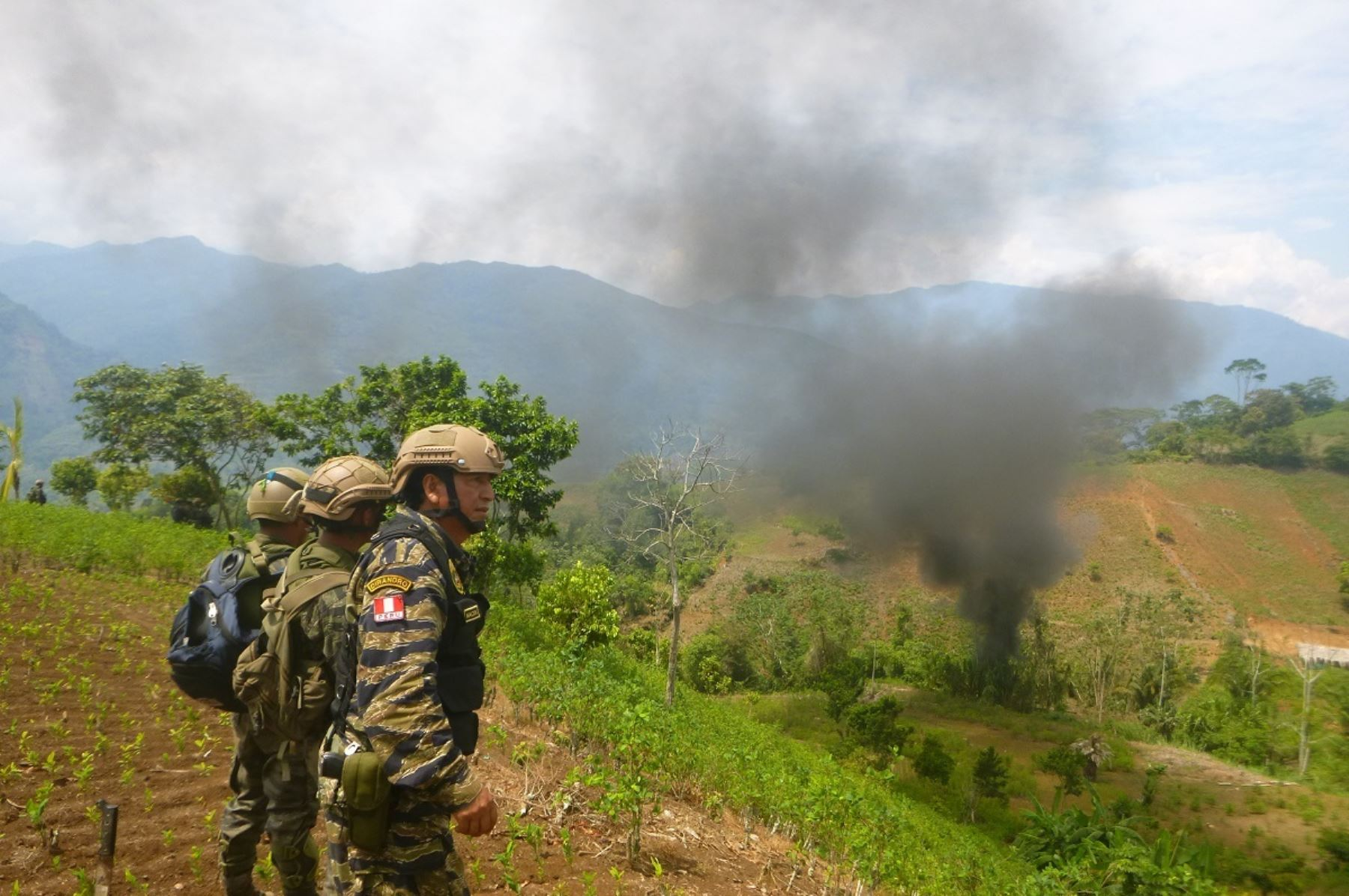 Gobierno realizará una lucha frontal contra el terrorismo y el narcotráfico