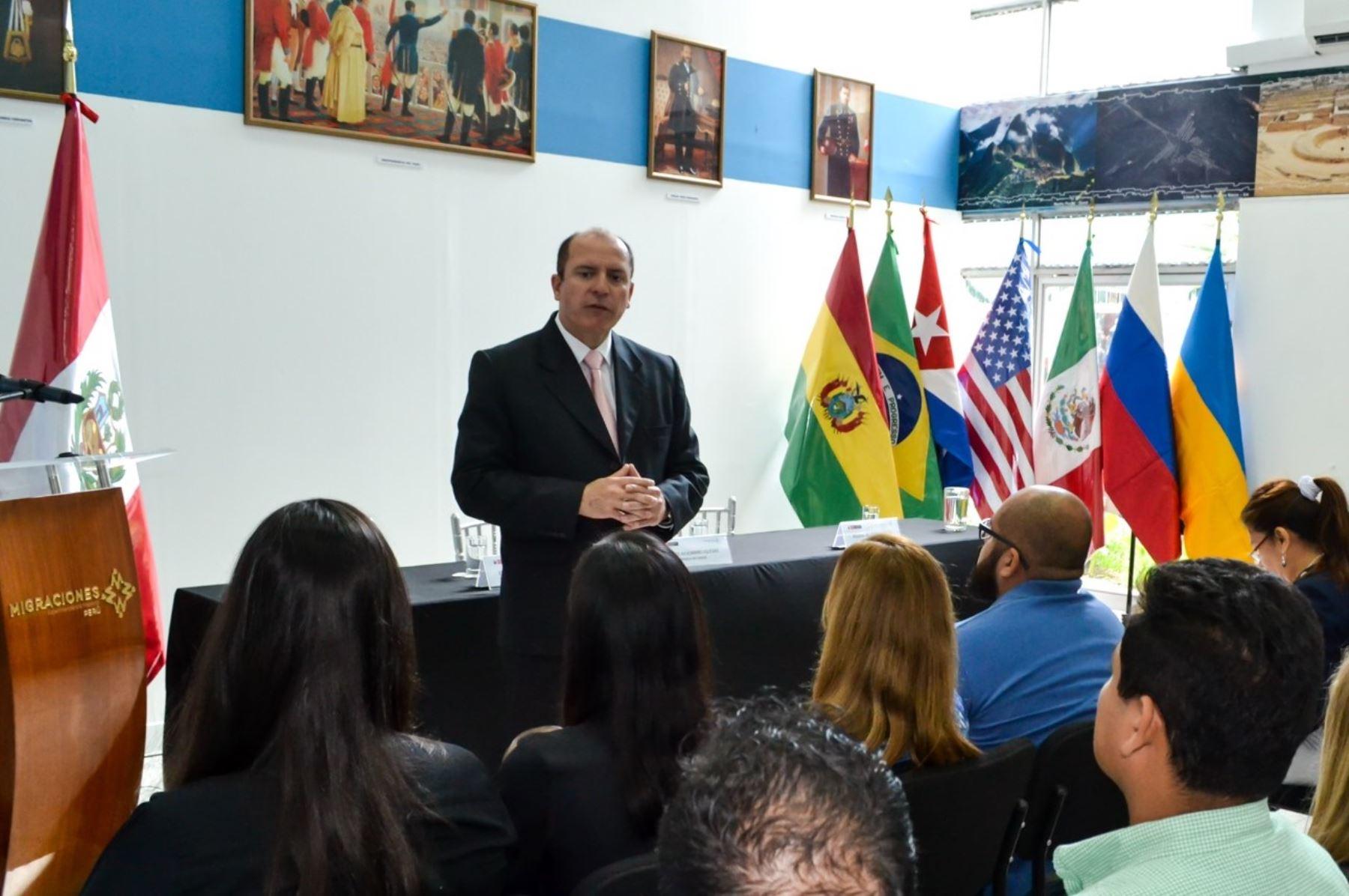 Jefe de Migraciones, Eduardo Sevilla, resaltó que el control fronterizo integrado Perú Chile dará un fuerte impulso al turismo y el comercio bilateral.