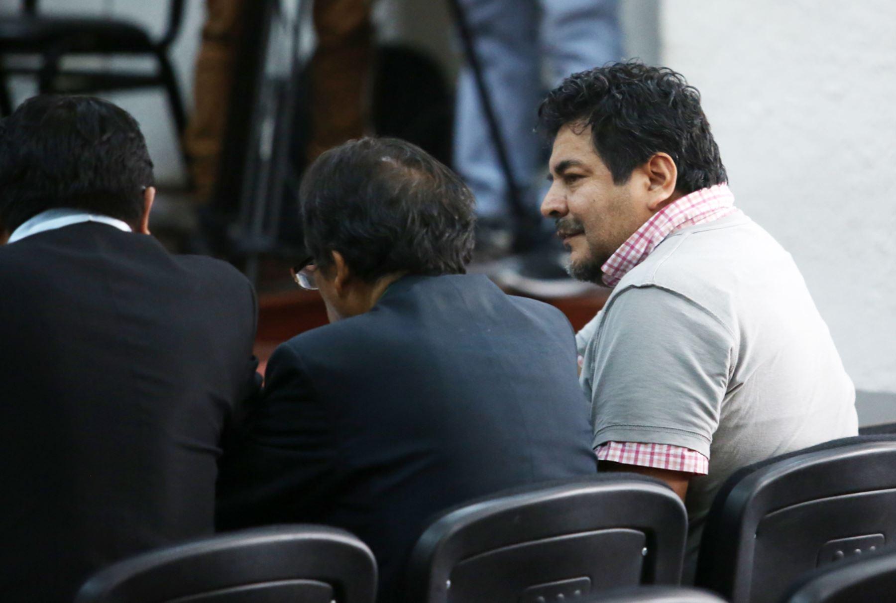 Se inicia la audiencia para el pedido de prisión preventiva a Edwin Luyo por caso Odebrech. ANDINA/Juan Carlos Guzmán