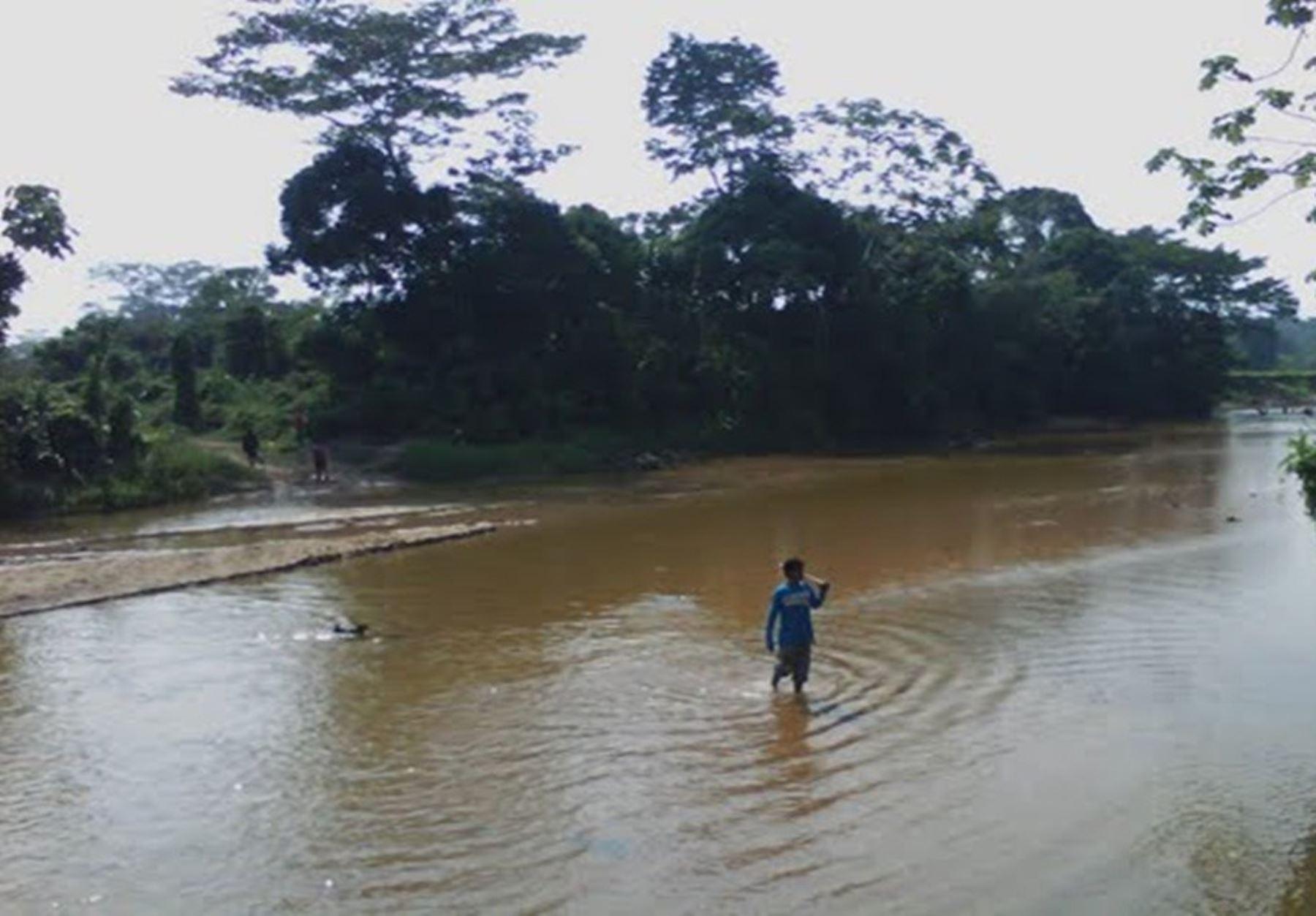 Río Amazomnas. ANDINA