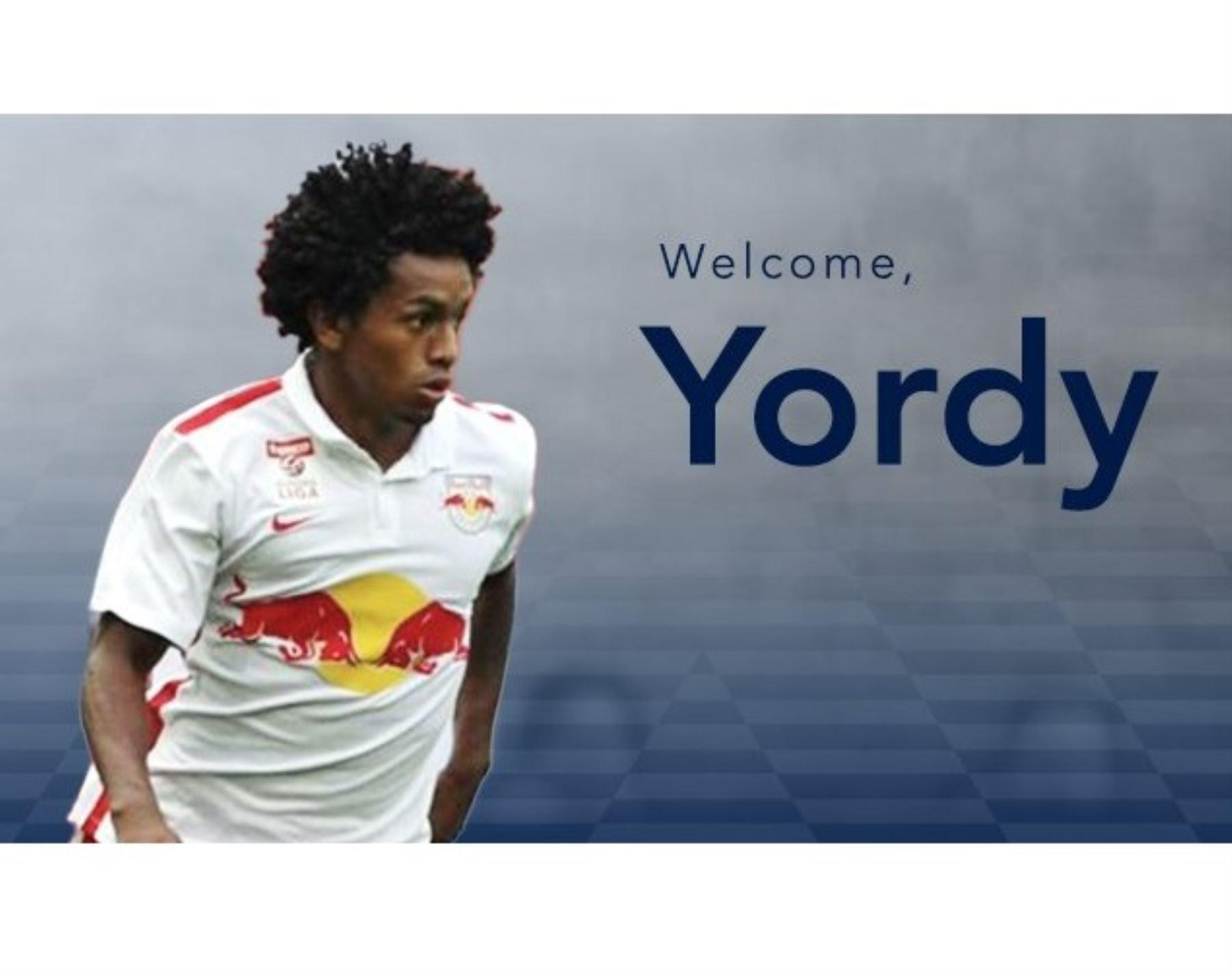 Yordy Reyna jugará esta tempoada en la MLS.
