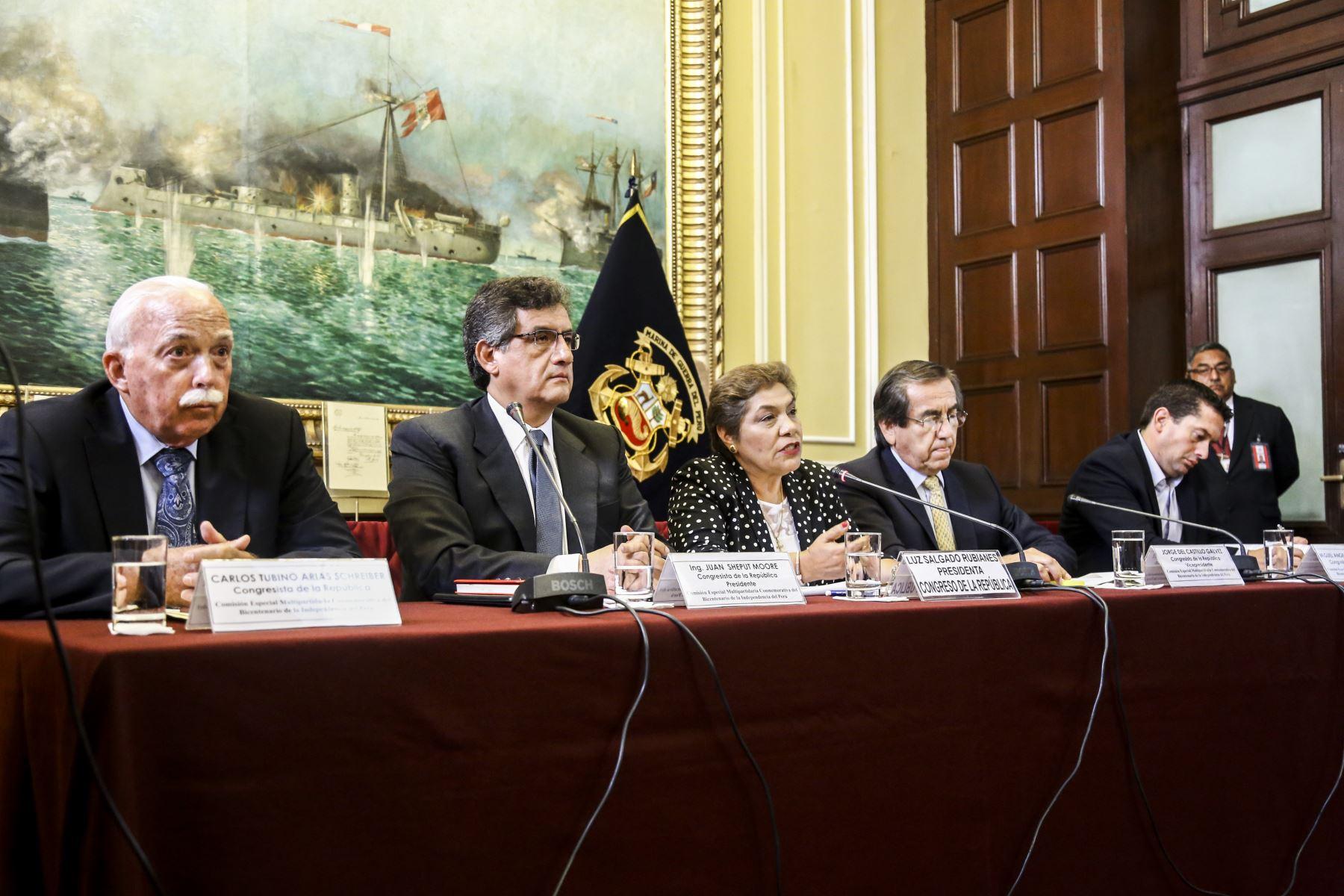 Comisión Especial Multipartidaria Conmemorativa del Bicentenario de la Independencia del Perú.