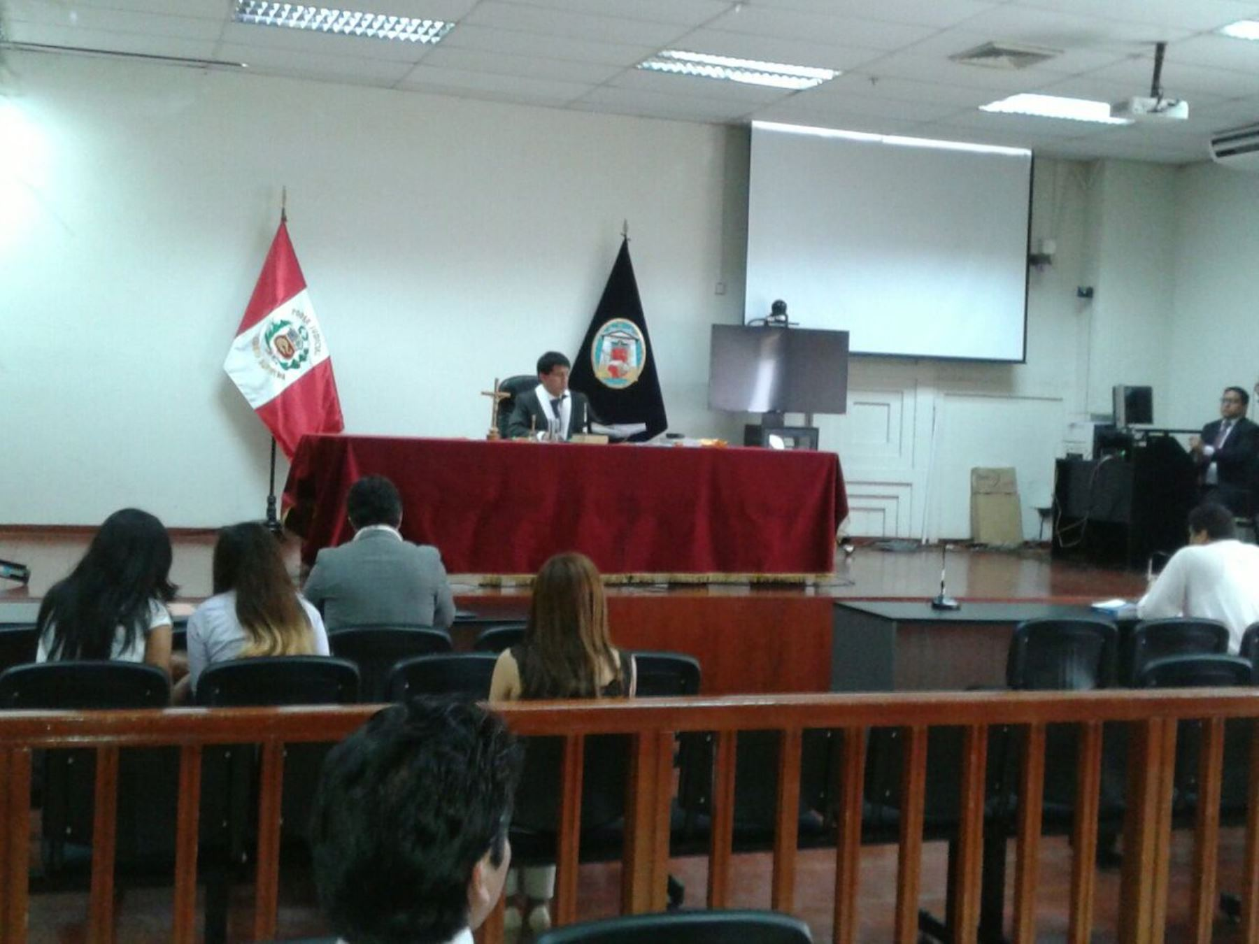 El juez Richard Concepción realiza audiencia de prisión preventiva contra ex viceministro de Comunicaciones Jorge Cuba Hidalgo. Difusión