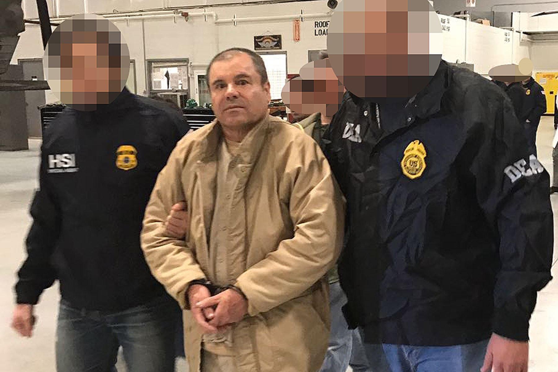 """Joaquín """"El Chapo"""" Guzmán a los Estados Unidos. Foto: AFP"""