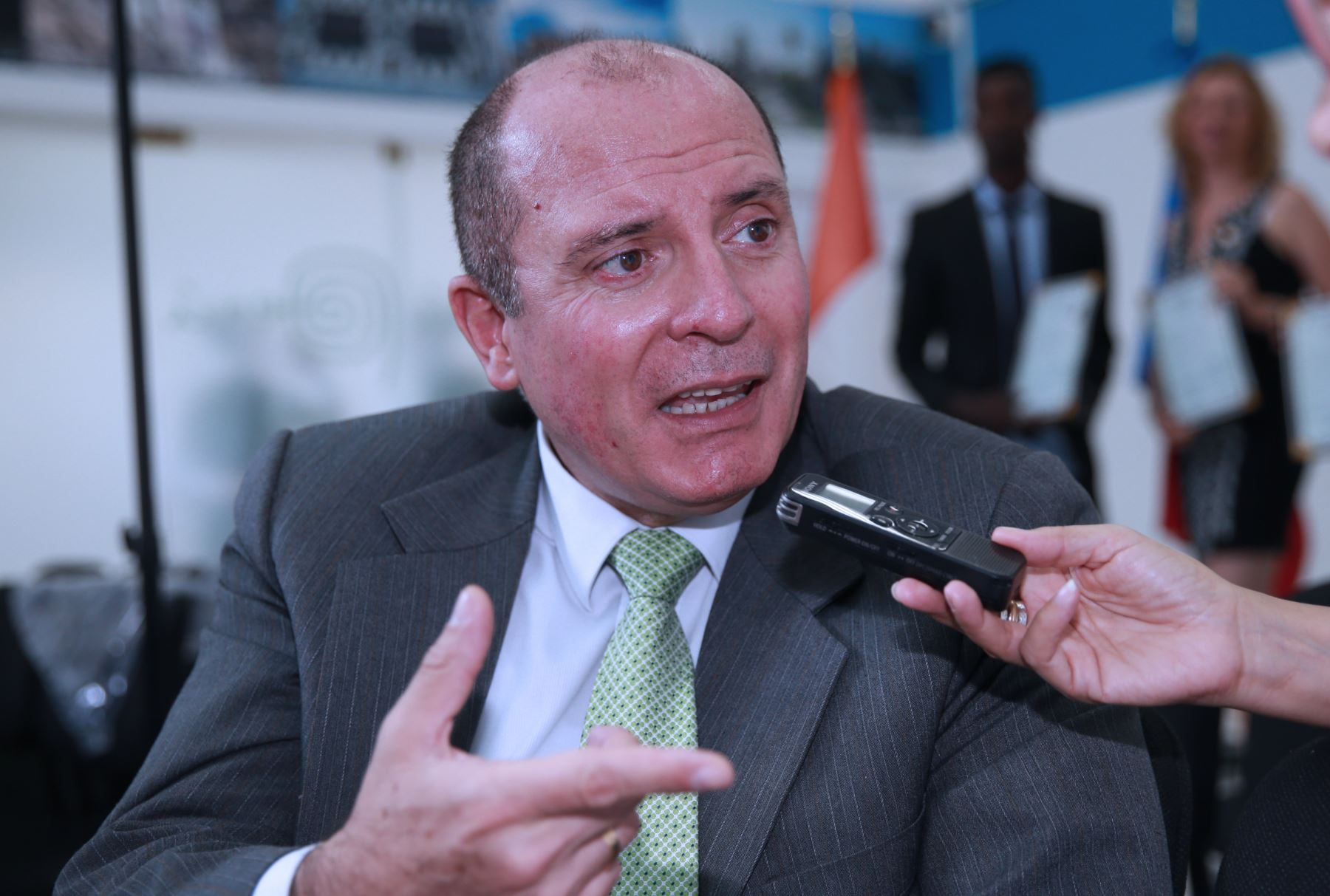 Superintendente de Migraciones, Eduardo Sevilla. Foto:  ANDINA/Norman Córdova