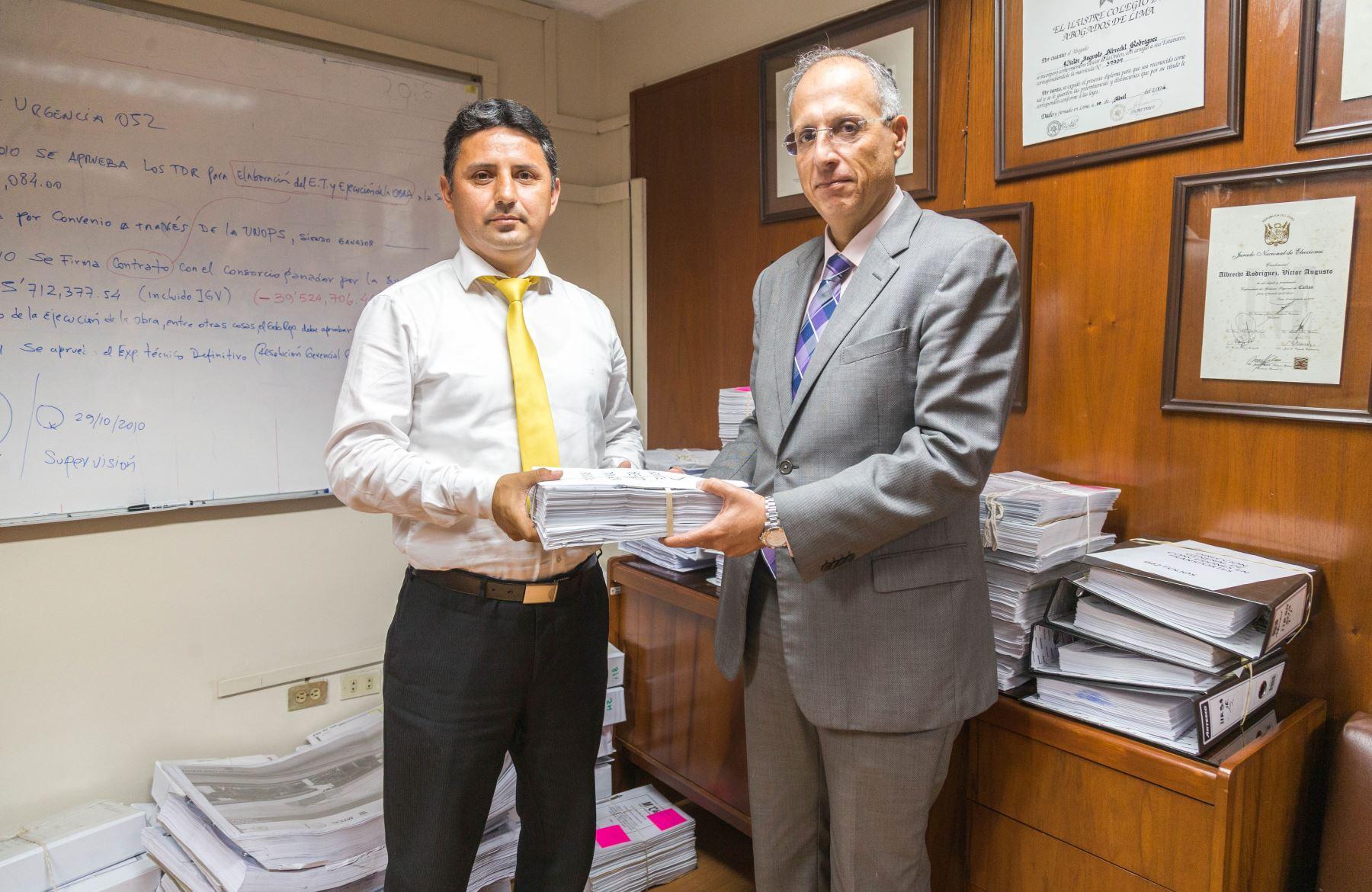 MTC entregó 43,000 documentos a comisión que investiga caso Lava Jato.