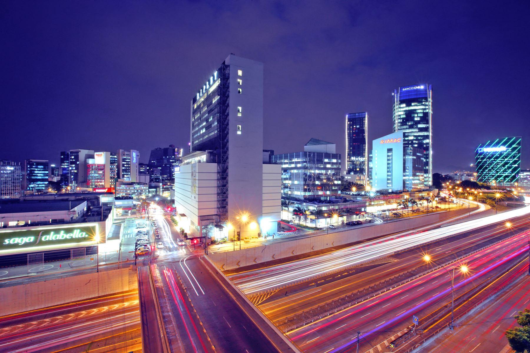 Centro financiero de Lima ANDINA/archivo