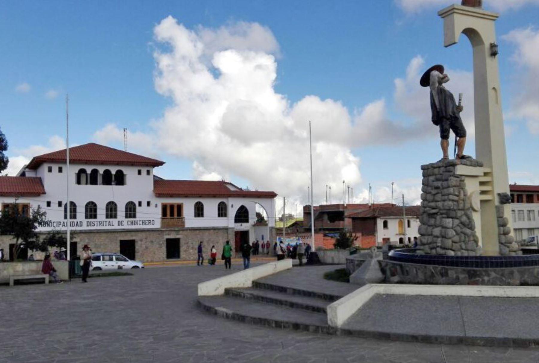 Localidad de Chinchero, Cusco. ANDINA/Difusión