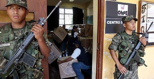 Fuerzas Armadas y seguridad en procesos electorales. Foto: ANDINA/Difusión