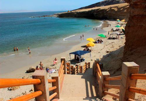 Playas de Paracas.Foto:  ANDINA/Difusión.