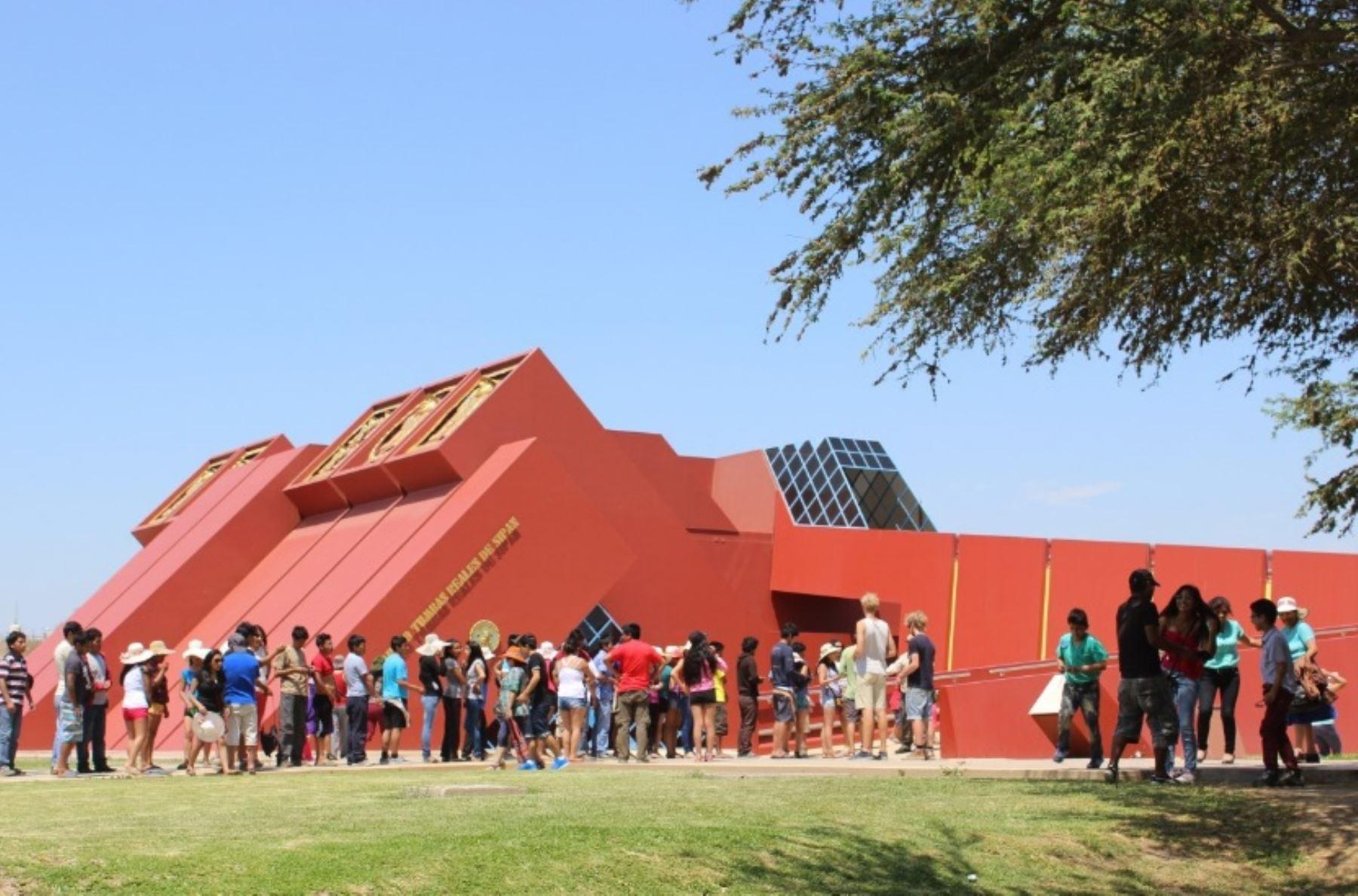Hoy habrá ingreso libre al Museo Tumbas Reales de Sipán, en Lambayeque. ANDINA/Difusión