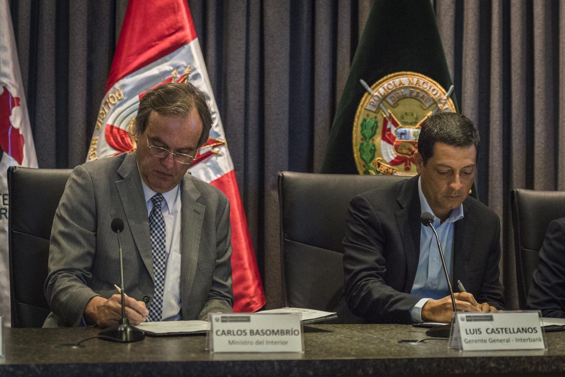 A través de un concurso nacional, el Mininter e Interbank buscan fortalecer labor de comisarías.