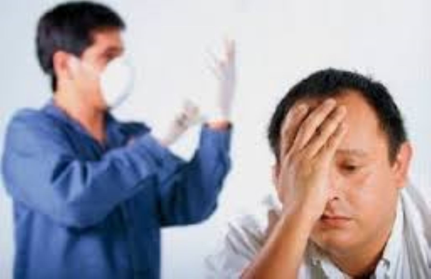 Examen de tacto rectal. Foto: Difusión