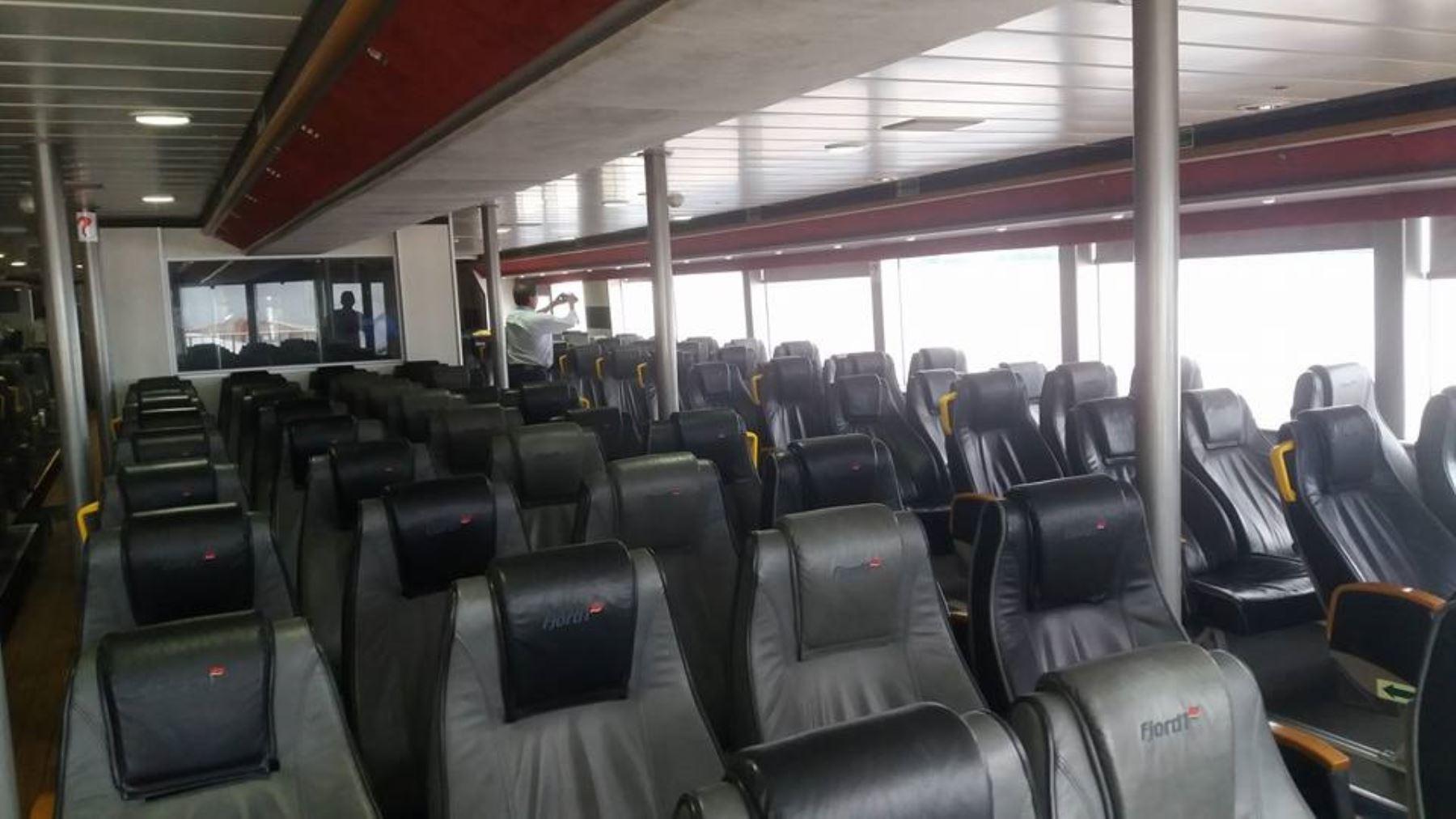 Cada semana el Ferry Amazónico hará 3 viajes de ida y vuelta por el río Amazonas. En esta ruta, se transportarán alrededor de 100,000 pasajeros cada año.
