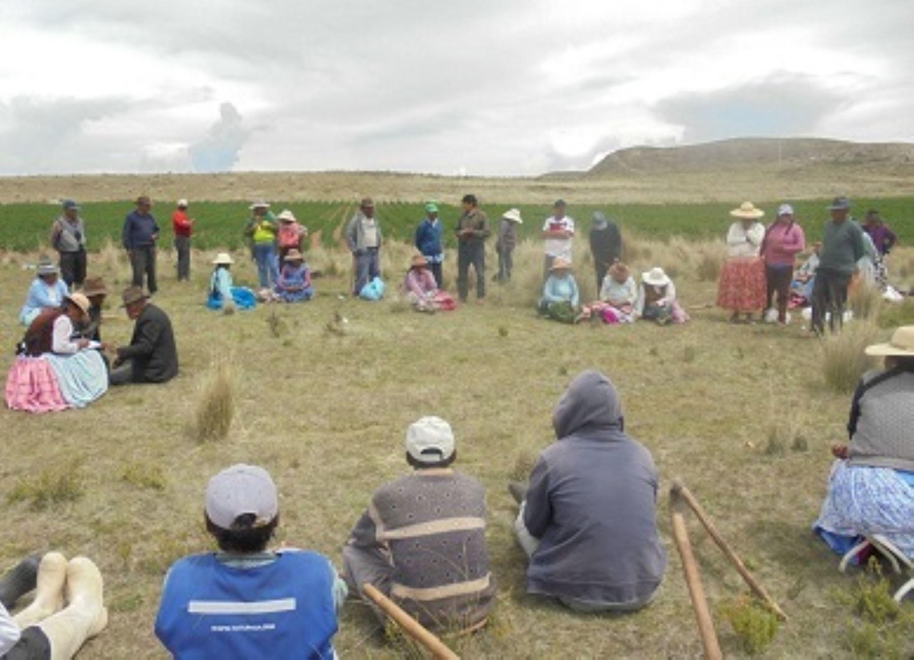 INIA capacitó a productores del distrito puneño de Ilave en idioma aimara.