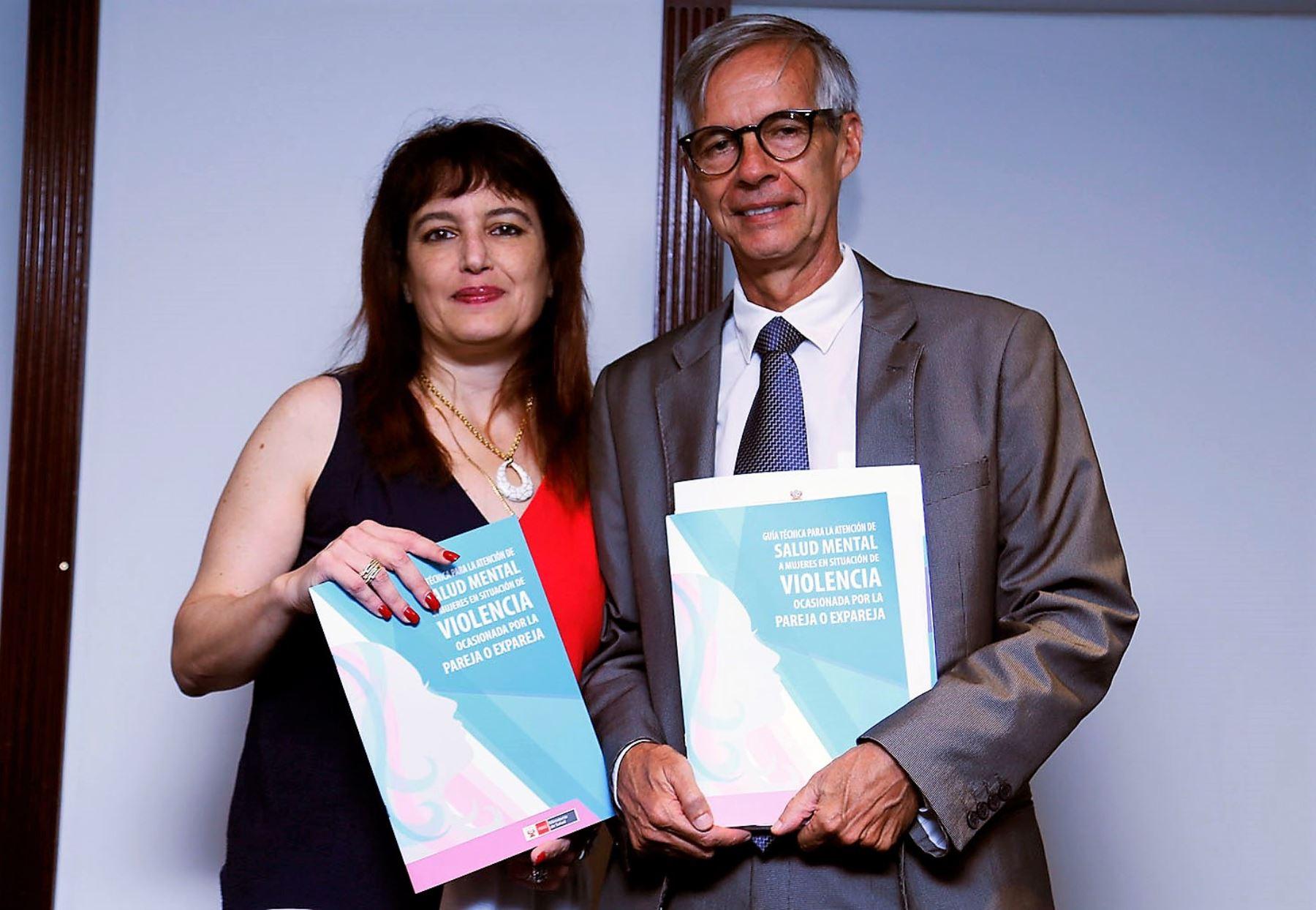 Presentan guía para atención en salud mental a mujeres en situación de violencia. Foto: ANDINA/Difusión.