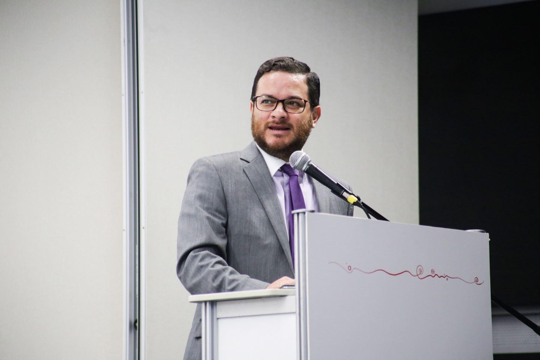 Viceministro de Comercio Exterior, Edgar Vásquez