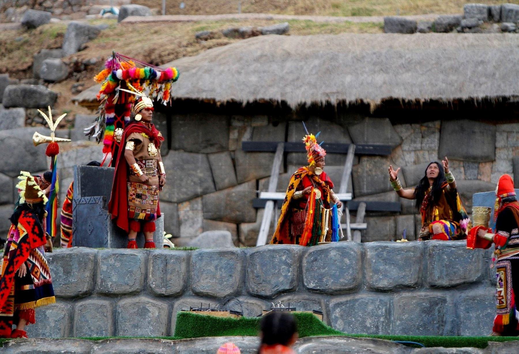 Anuncio de las fiestas del Cusco e Inti Raymi será desde Machu Picchu. ANDINA/Percy Hurtado