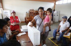 Cerca de 10,000 jóvenes votarán por primera vez en Amazonas. ANDINA/Difusión