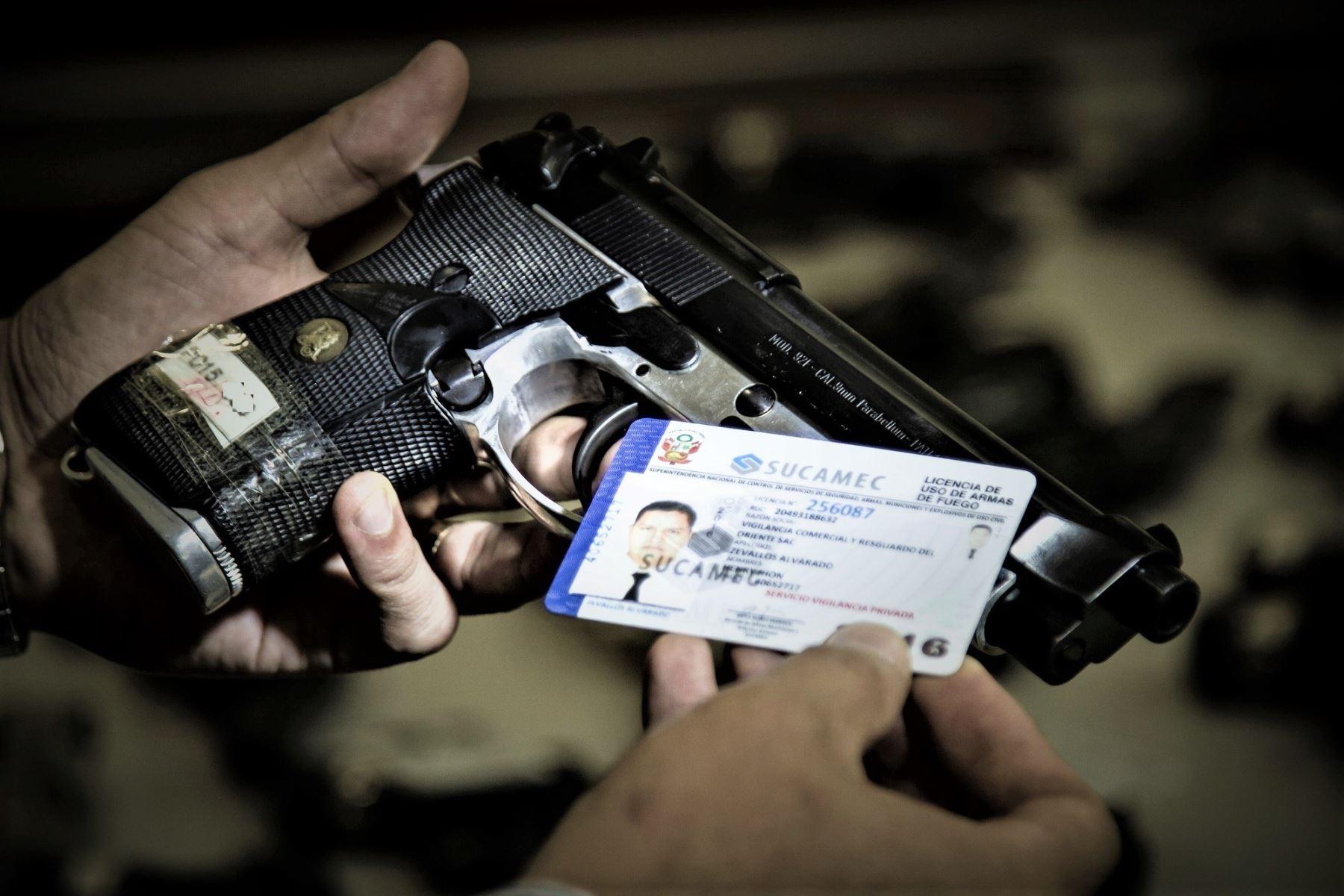 Sucamec Facilita La Renovación De Licencia De Armas En