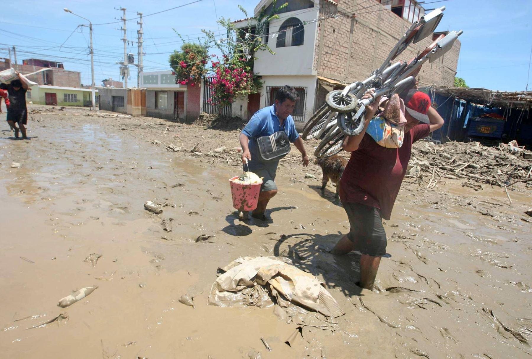 Midis diseña estrategia para reducir riesgos de personas en situación de pobreza ante desastres naturales. ANDINA/Jhony Laurente