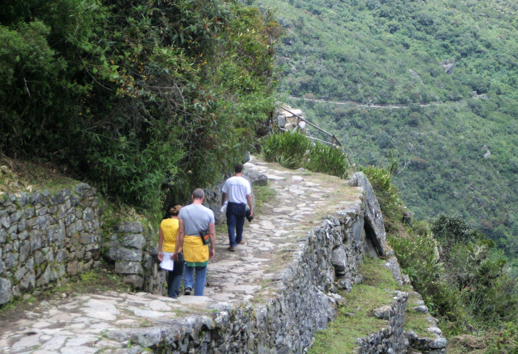 Sernanp garantiza normal acceso a Red del Camino Inca del Santuario Machu Picchu, en Cusco.