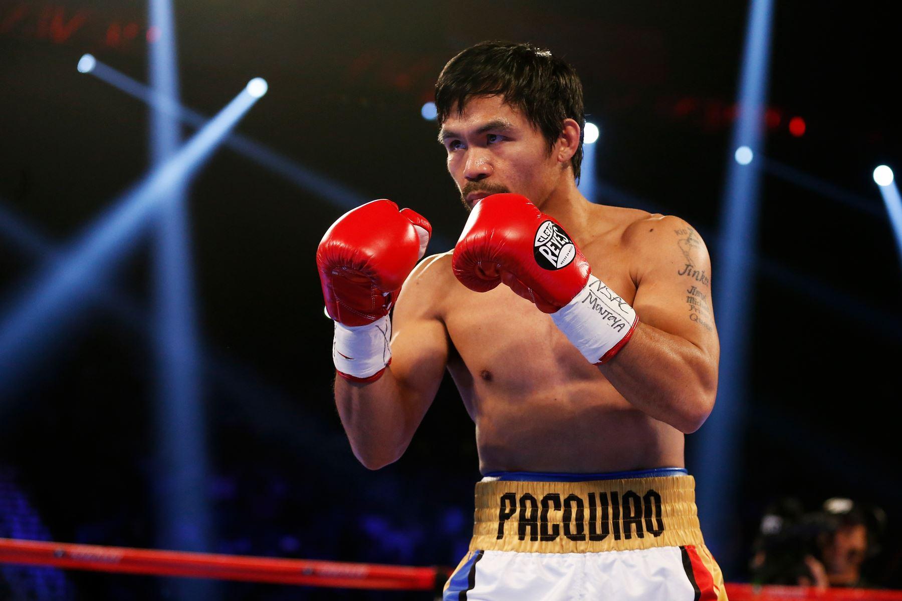 Manny Pacquiao quiere pelear contra Conor McGregor el año próximo |  Noticias | Agencia Peruana de Noticias Andina