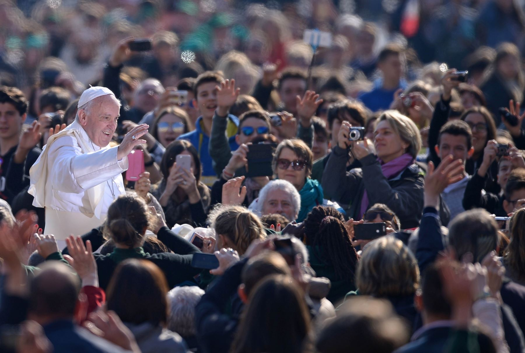 Cusco se prepara también por visita del Papa Francisco a Puerto Maldonado. AFP